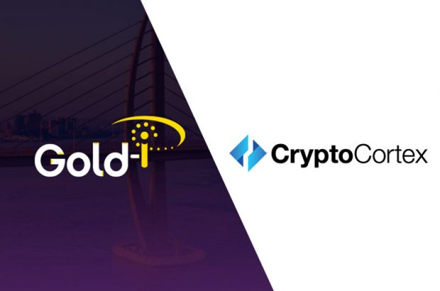 Gold-i integrates with the CryptoCortex platform