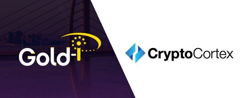 Gold-i integrates with the CryptoCortex platform