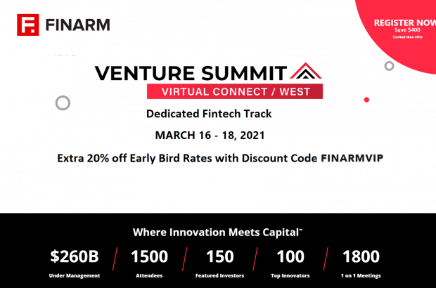 Venture Summit Virtual Connect | March 16-18, 2021