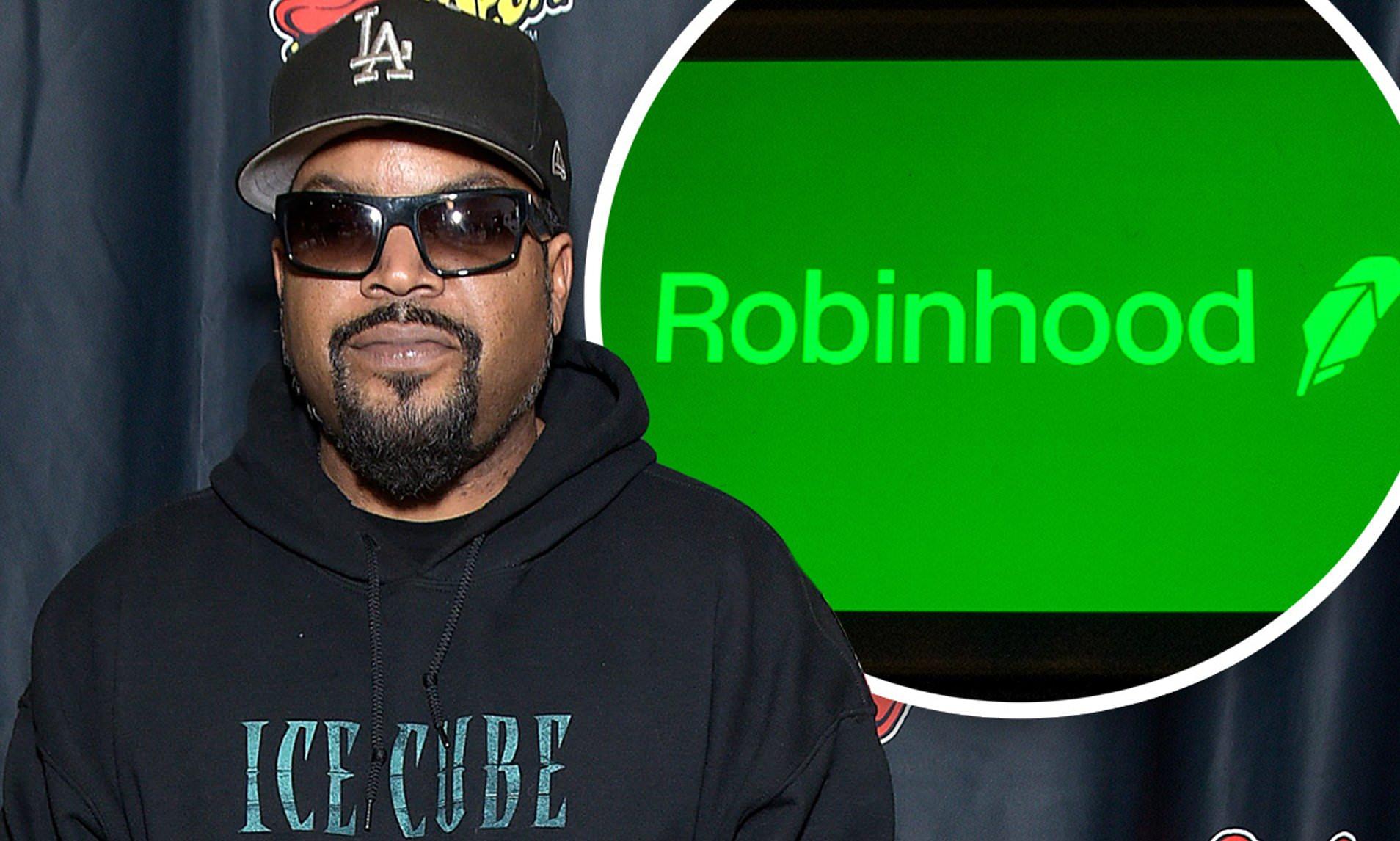 Ice Cube reopened claim against Robinhood