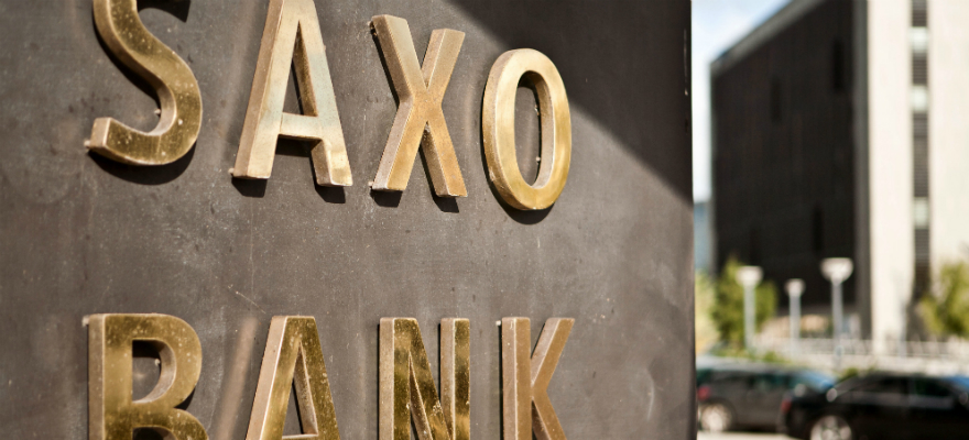 Saxo Bank faced a slump in Forex trading volume in five years