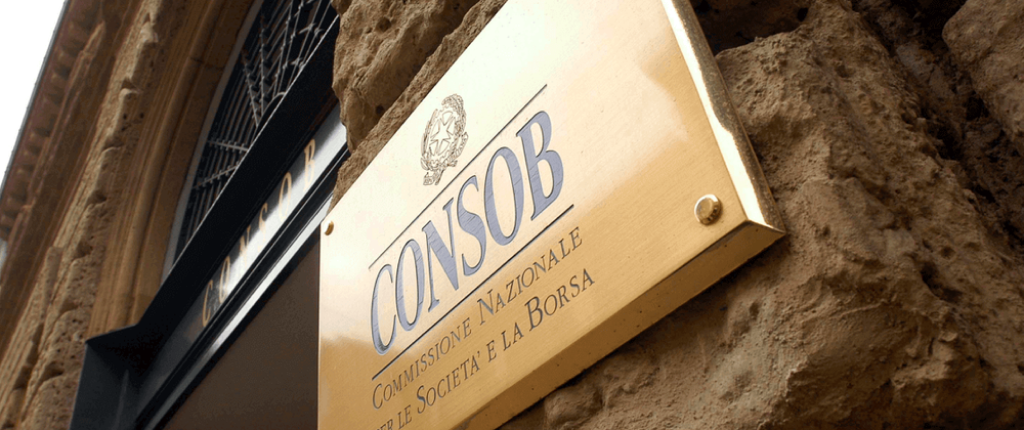 Italy's CONSOB prohibited a wide set of fraudulent platforms